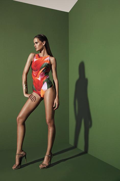 Izabel Goulart Agua de Coco's Spring Campaign 2013 #sexy #model #girl #photography #bikini #fashion