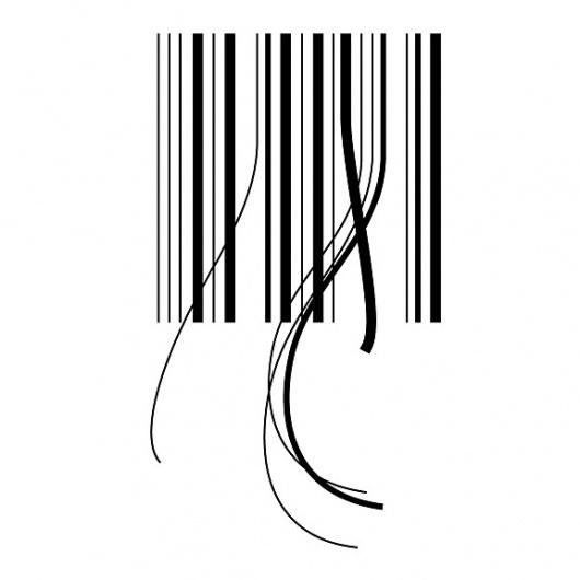 hair_code.jpg 576×576 pixels #white #code #black #bar #and #logo