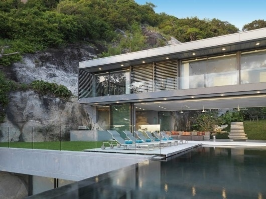 WANKEN - The Blog of Shelby White » Villa Amanzi #steel #amanzi #architecture #thailand #residence #villa