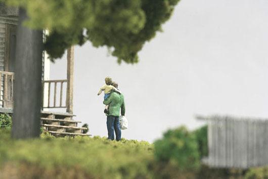 thomas doyle worlds 02 #miniature #diorama #house #art
