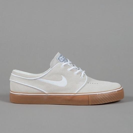 Flatspot - NIKE SB STEFAN JANOSKI WHITE / WHITE #flatspot #sneaker