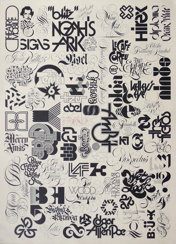 Tony Forster—the Fred Astaire of letters by David Quay #inspiration #calligraphy #design #graphic #typography