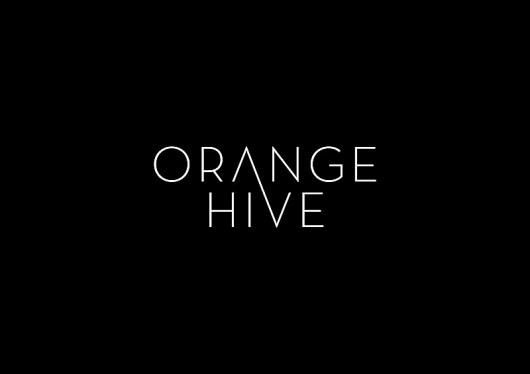 Orange Hive Identity - Minimalissimo #emanuele #cecini #orange #hive #logo
