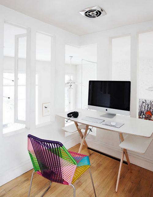 Minimal Desks Simple workspaces, interior design #desk #minimal #workspace