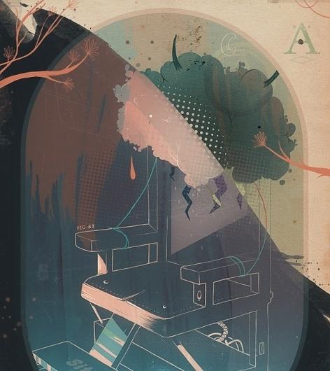 Paykhan - Graphic design / Paris #les #choses #paykhan #illustration #painting