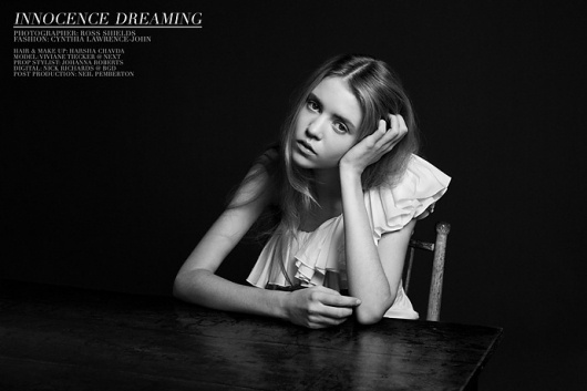 Innocence Dreaming | Volt Café | by Volt Magazine #beauty #white #design #graphic #volt #black #photography #art #and #fashion #layout #magazine #typography