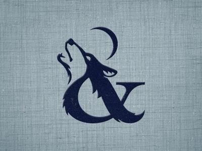 Dribbble - Wolf & Whisper V? by Mackey Saturday #logo #wolf