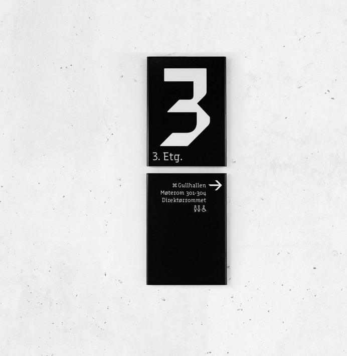 Wayfinding   Signage   Sign   Design   Sentralen 奥斯陆新的表演场地