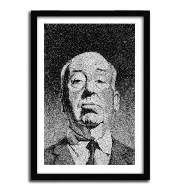 HITCHCOCK BY NICOLAS JOLLY #print #art