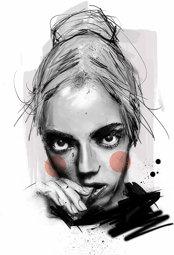 P Y P E R - Rosco Flevo #model #roscoflevo #design #artscumantics #digital #illustration #postartfuckery #art #pyper #fashion #america