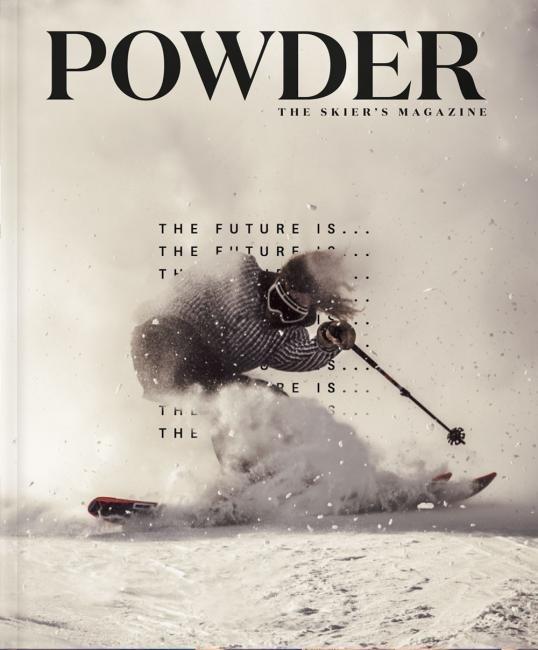 Powder Magazine February Cover