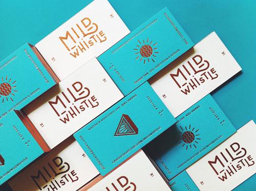 Mild Whistle #business #branding #card #design #graphic #brand #logo