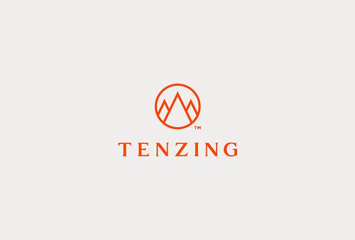 Tenzing Skincare by Mash Creative and Socio Design #logotype #mark #logo