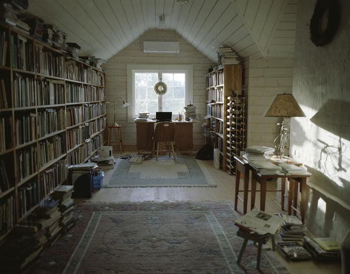 mamiya 7II   Flickr - Photo Sharing! #bookcase #books #library #attic