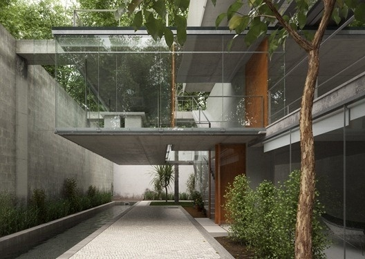 Carapicuiba House by SandroS - Ronen Bekerman 3d architectural visualization blog #render #architectural