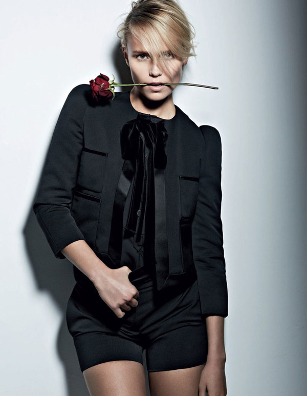 Natasha Poly by Patrick Demarchelier #fashion #photography #inspiration