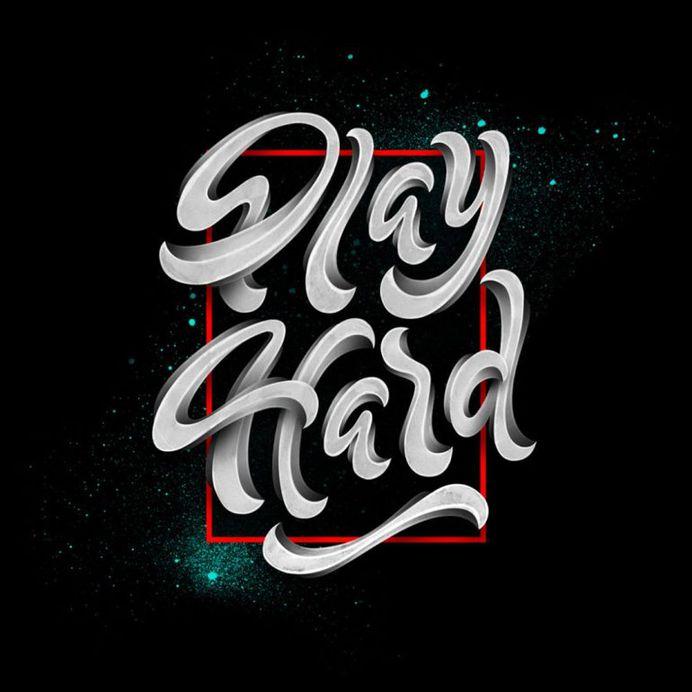 Work Hard Play Hard by Jonathan Ortiz