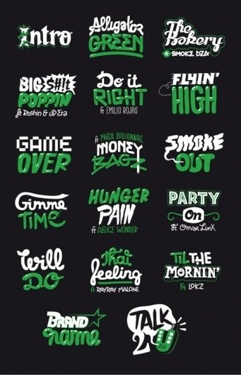 Sebastien Cuypers Illustrations « GraphicDrugs / Everyone has a need for inspiration… #typography