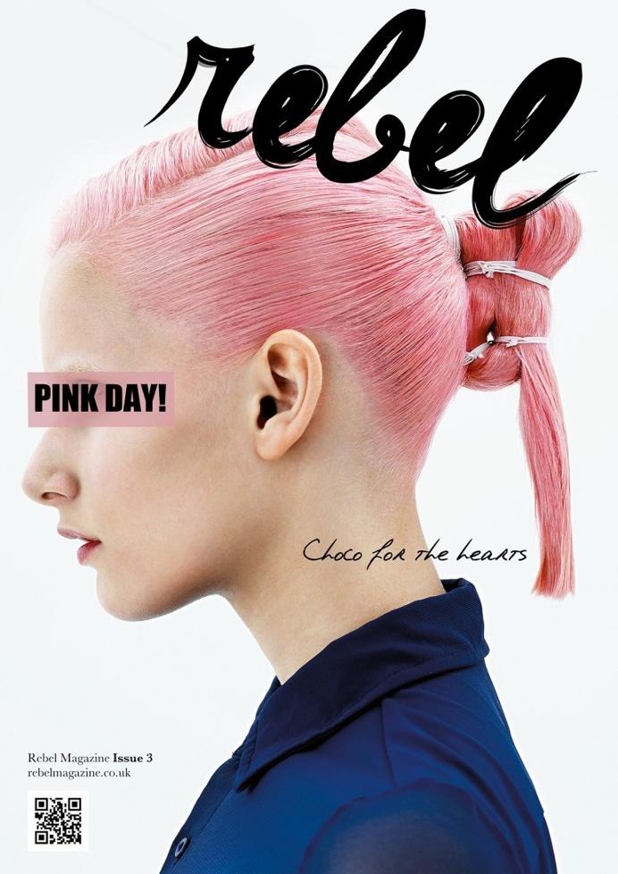 REBEL Typeface + Magazine Masthead
