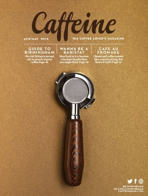 Caffeine (London, UK) #cover #magazine