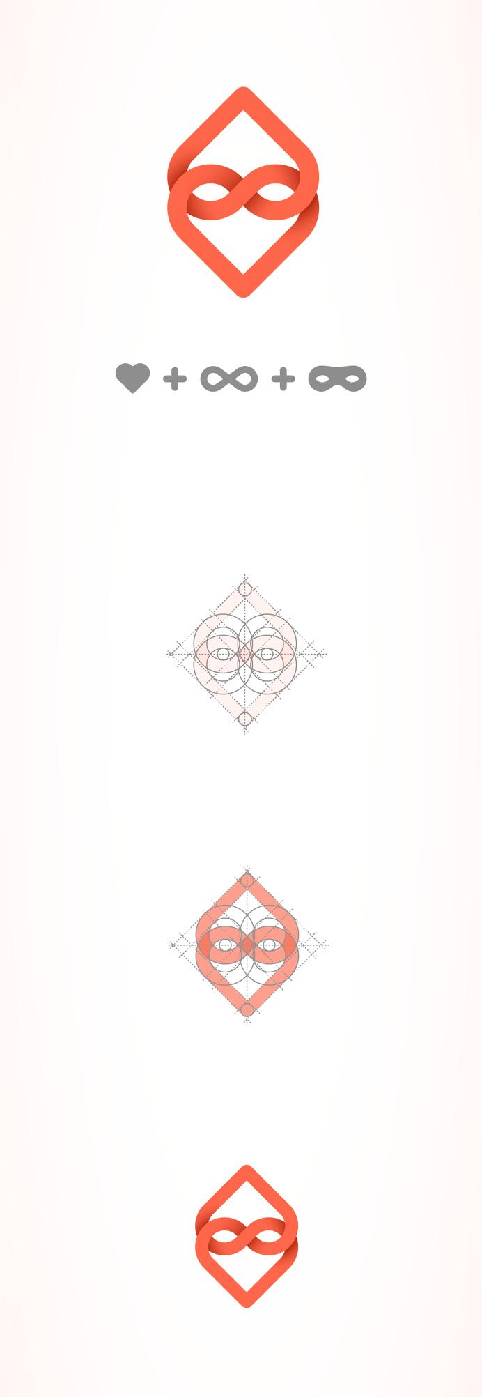 #logo #heart #branding #identity