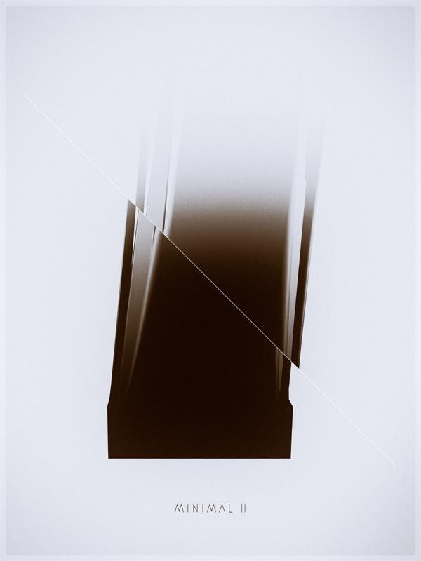 minimal II / III #digital #illustration #minimal