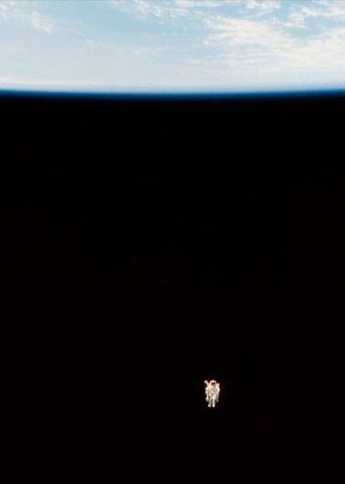 http://b-u-i-l-d.tumblr.com/ #a #astronaut #silver #space #cord #on #hung