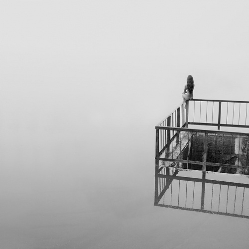 White Silence by Pavel Tereshkovets #photography #white #black #and