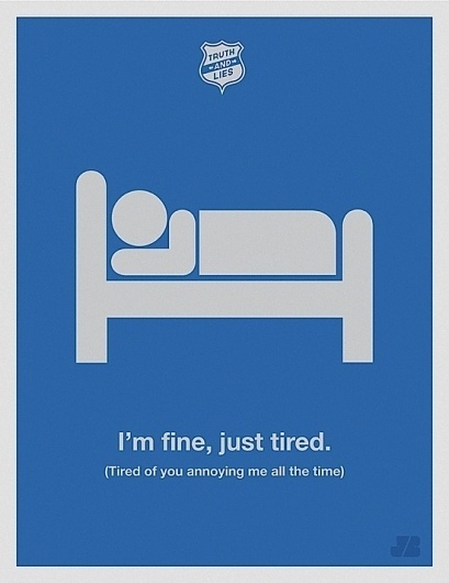 Humorous Truth & Lies Posters | Abduzeedo | Graphic Design Inspiration and Photoshop Tutorials #poster
