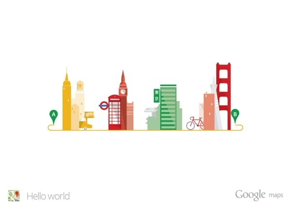 Best vector google maps world behance images on designspiration google maps hello world on behance google illustration vector gumiabroncs Choice Image