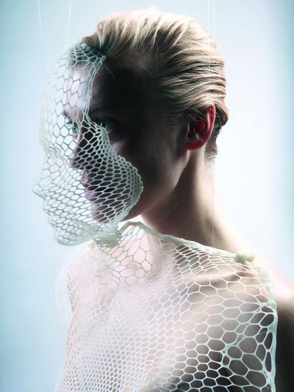 Lucy McRae — fashion, technology and the body - Creative Journal #fashion #photography #geometric