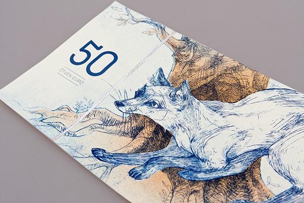 Hungarian paper money on Behance #paper #money #art