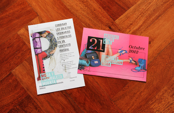 Freek Expo Foto Fashion Still Life on Behance #typographic #feminine