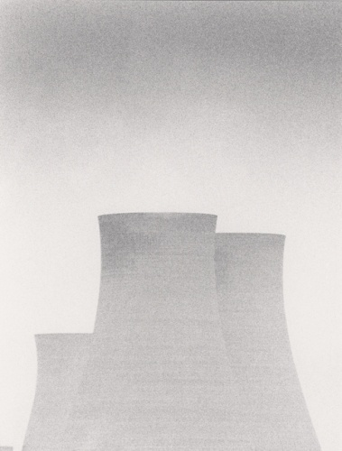 Michael Kenna #concrete #infrastructure #towers #cooling #engineering