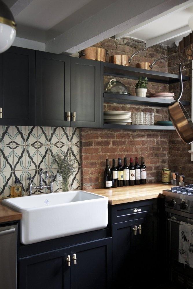 Halle & Jeff's East Village Apartment — House Tour | Apartment Therapy #kitchen