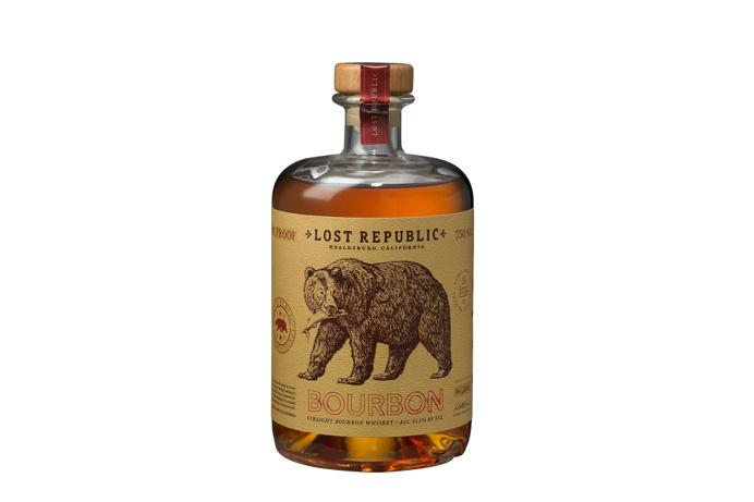 Lost Republic ~ Bourbon Label Design ~ Packaging ~ Auston Design Group