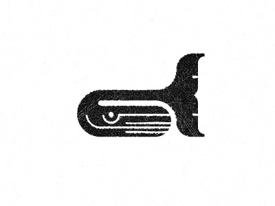 Dribbble - Whaley Logo by Gert van Duinen #logo