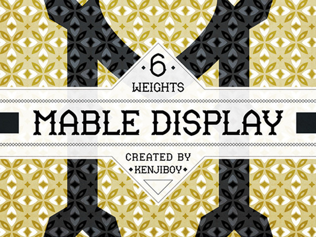Mable Display Free Retro Typeface