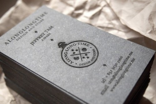 Along Long Time Business Cards #logos #business #branding #card #logo