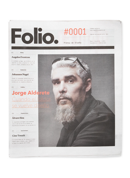 Folio. by Face. #print #design #newspaper #editorial