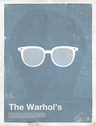 Moxy Creative Posters | Framework | Movie posters | TrendLand: Fashion Blog & Trend Magazine #glasses #warhol #illustration #framework #poster