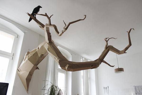 CJWHO ™ (The Paper Stuff by Bartek Elsner German art...) #creative #sculpture #cardboard #design #bartek #art #paper #elsner