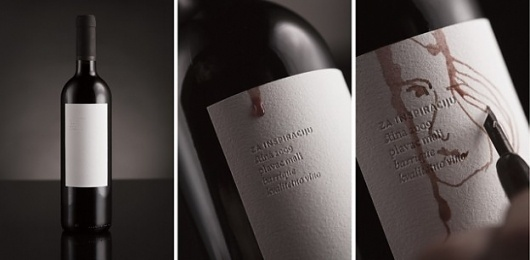 Red wine - interactive packaging design #packaging #design #wine