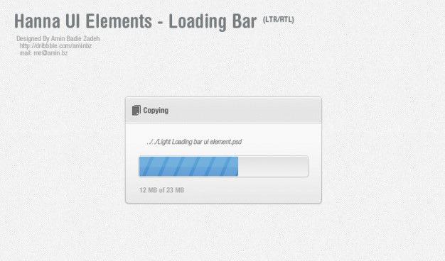 Blue progress bar ui elements Free Psd. See more inspiration related to Blue, Bar, Elements, Ui, Gray, Psd, Progress bar, Progress, Popup and Horizontal on Freepik.
