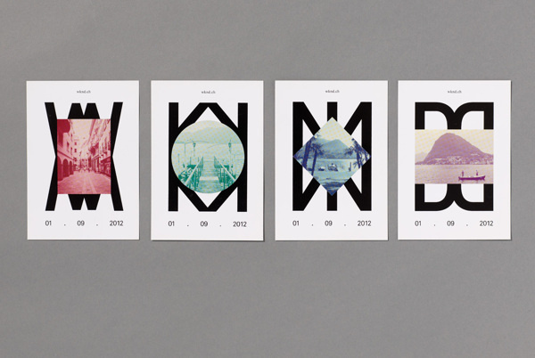 WKND Launch Campaign on Behance #poster #shape
