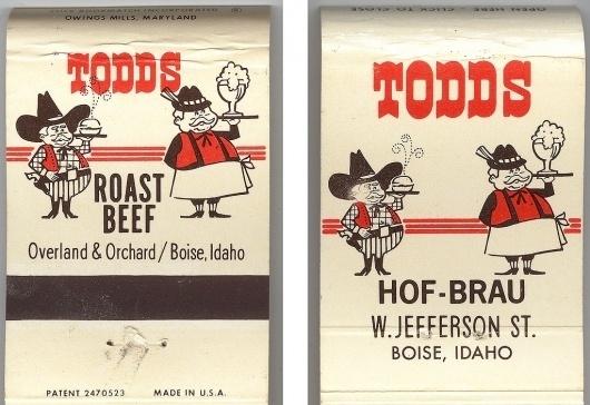 All sizes | Todds Roast Beef & Hof-Brau | Flickr - Photo Sharing! #logo #illustration #retro #vintage