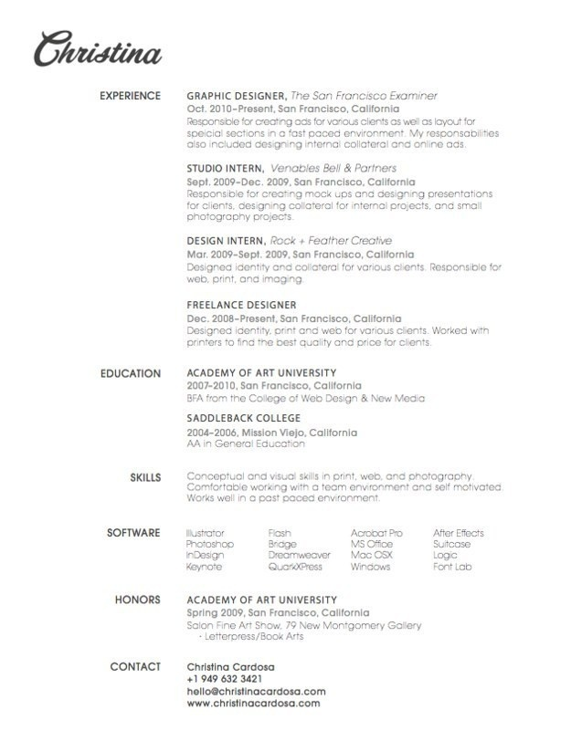 27 Beautiful Résumé Designs You'll Want To Steal #resume