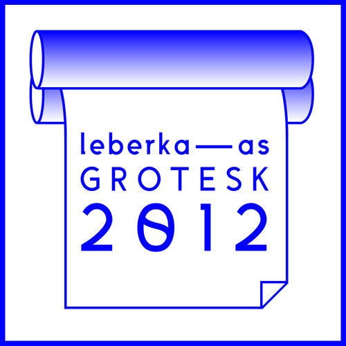 Image of LEBERKAAS GROTESK Typeface #font #type #grotesk #blue #typography