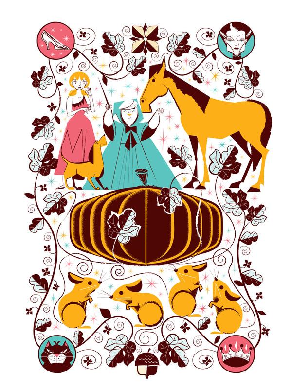 Cindy Before #see #reifsnyder #illustration #disney #cinderella #scotty