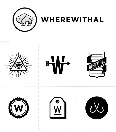 Wherewithal | Kyle Tezak #logo #identity #branding